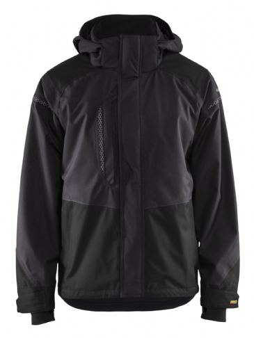 Blaklader 4988 Waterproof Shell Jacket (Dark Grey / Black)